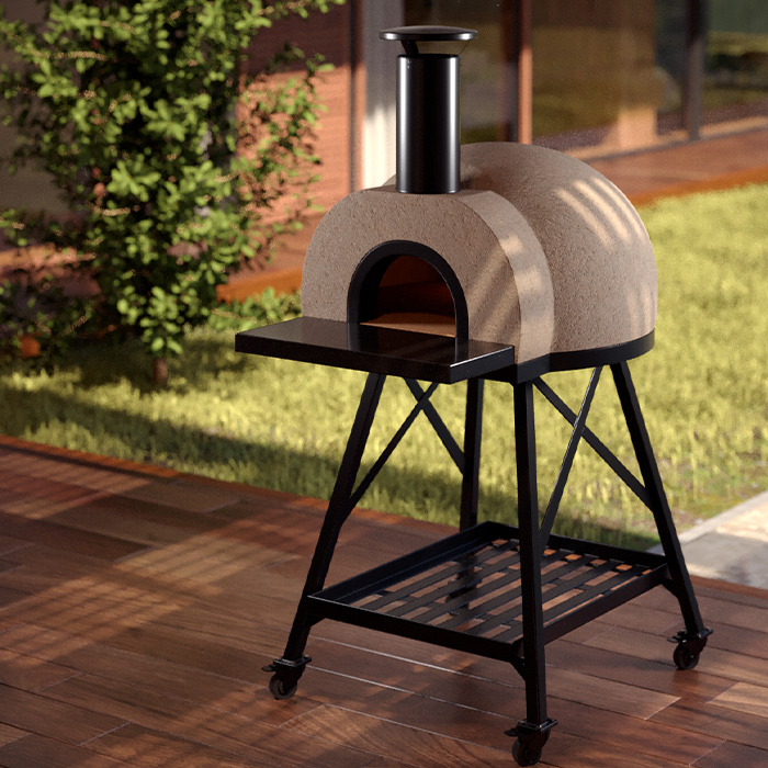 Tusk Living Apetito Woodfire Pizza Oven