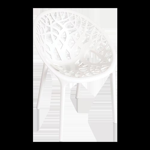 Arc Chair White