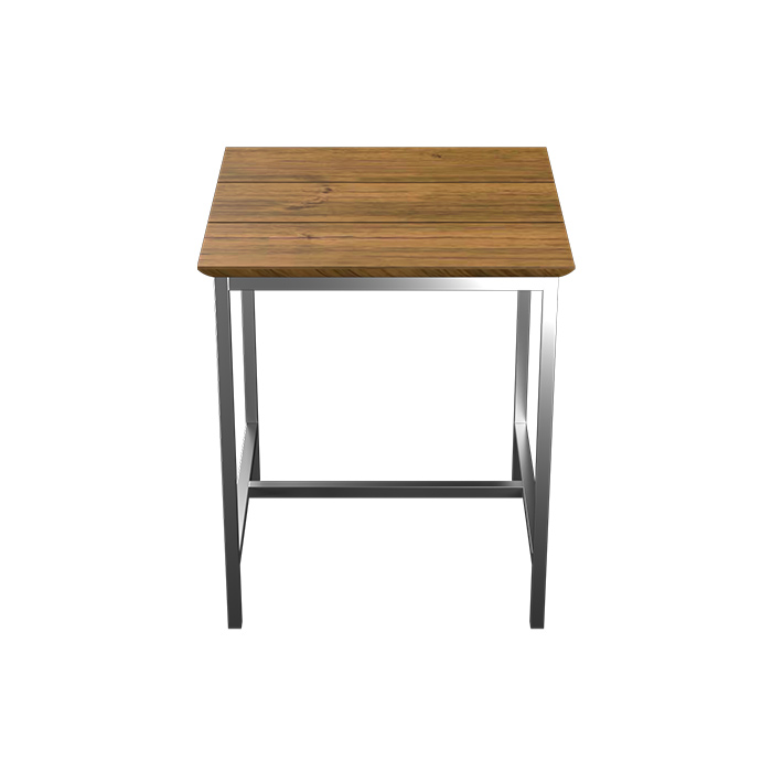 TUSK LIVING ASTON 65CM STAINLESS STEEL OUTDOOR TABLE