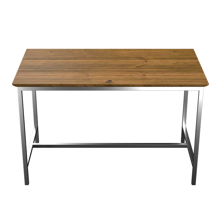 TUSK LIVING ASTON 120CM STAINLESS STEEL OUTDOOR TABLE