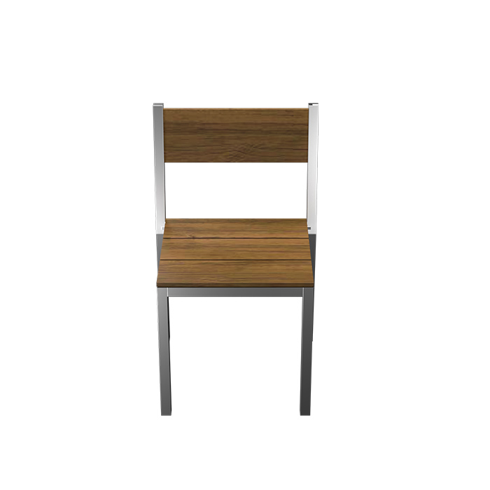 TUSK LIVING ASTON STAINLESS STEEL OUTDOOR CHAIR